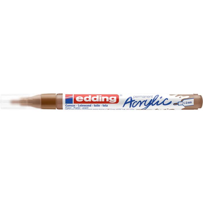 Edding 5300 Akril marker F 1-2 mm Hazel