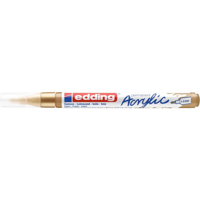 Edding 5300 Akril marker F 1-2 mm Rich gold