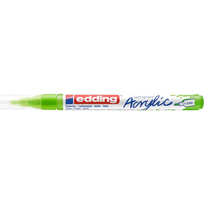 Edding 5300 Akril marker F 1-2 mm Yellow green