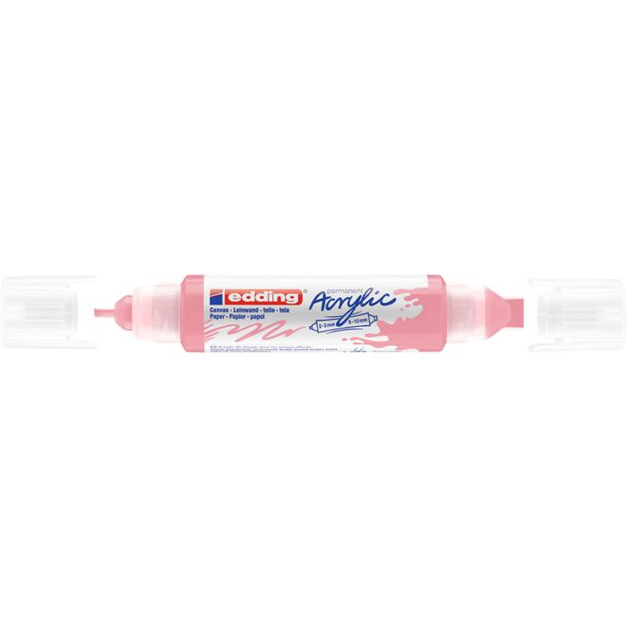 Edding 5400 Akril marker 3D Double liner 2-3 mm/5-10 mm Classy mauve