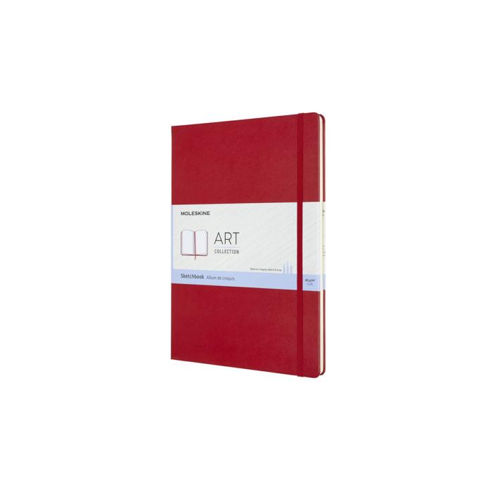 Moleskine Skiccfüzet Sketch Piros