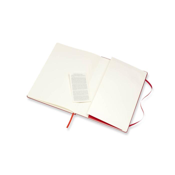 """Moleskine Skiccfüzet Sketch Piros """"A4"""" Méret Álló"""
