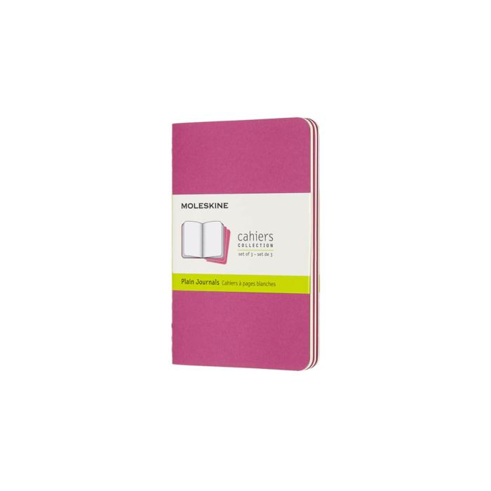 Moleskine Jegyzetfüzet Cahier 3db Élénk Pink