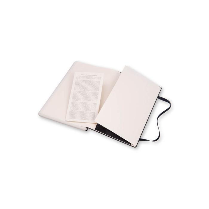 """Moleskine Papertablet Kemény Fekete """"L"""" Méret Pontozott"""