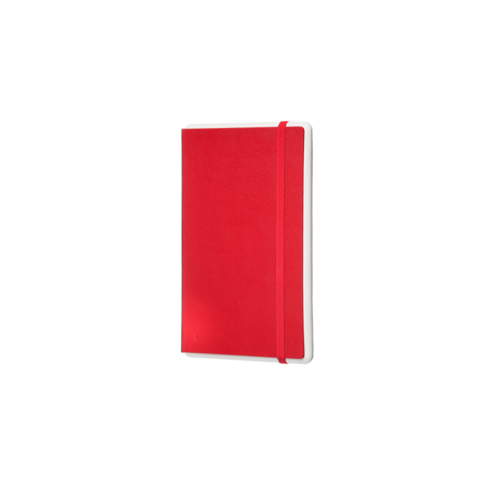 """Moleskine Papertablet Kemény Piros """"L"""" Méret Pontozott"""