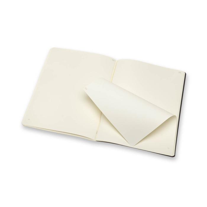 "Moleskine Papertablet Cahier 2db Fekete ""XL"" Méret Sima"