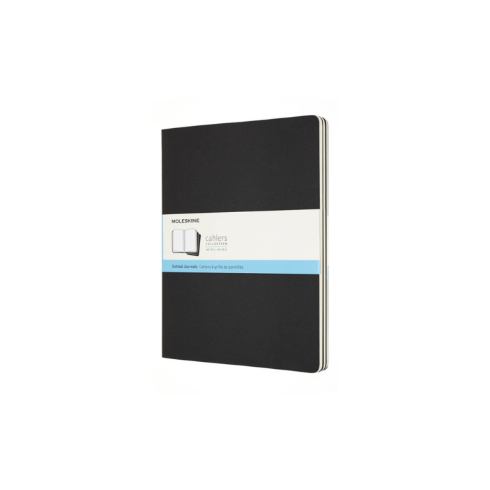 Moleskine Jegyzetfüzet Cahier 3db Fekete