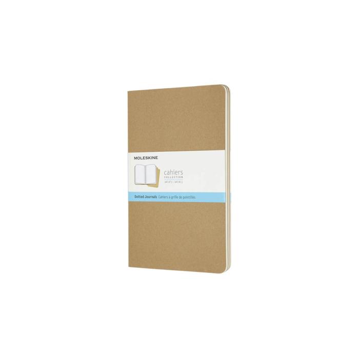 Moleskine Jegyzetfüzet Cahier 3db Barna